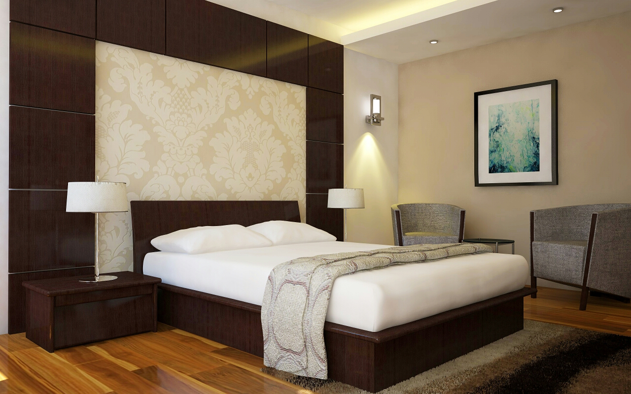 Master Bedroom view 1 Marigold Interiors